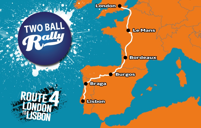 london to lisbon rally two ball banger rally european road trip
